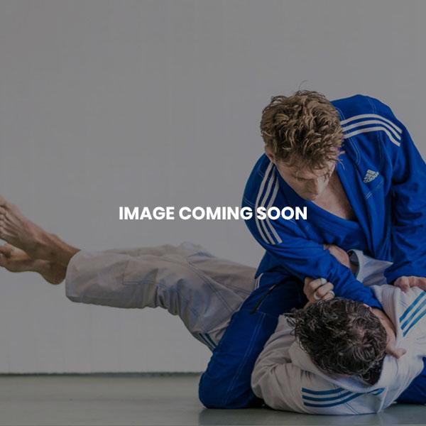 Cimac Kickboxing Satin Trousers - White Stripe